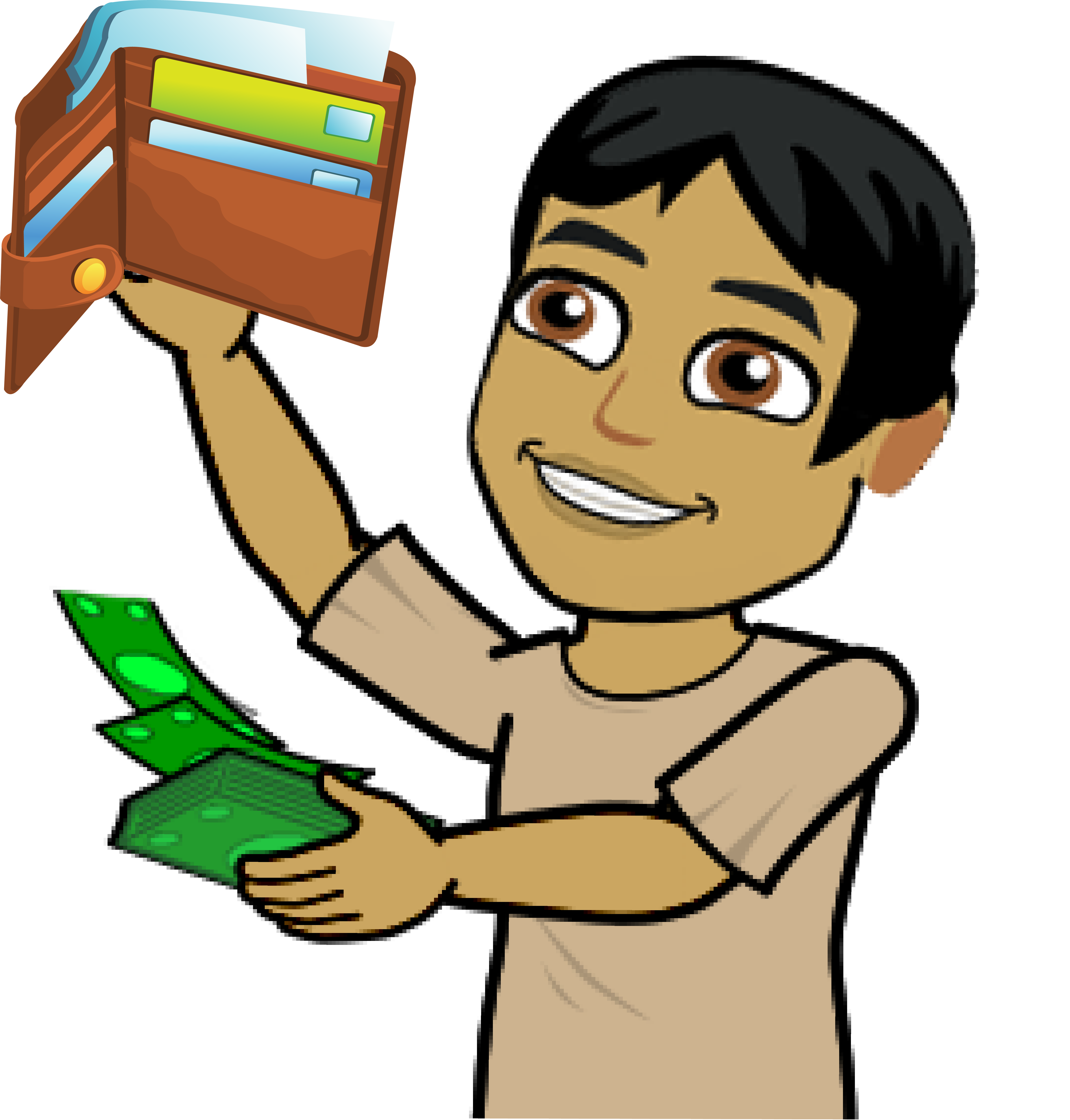 Wellnesswallet png rent matters. Wallet clipart enough money