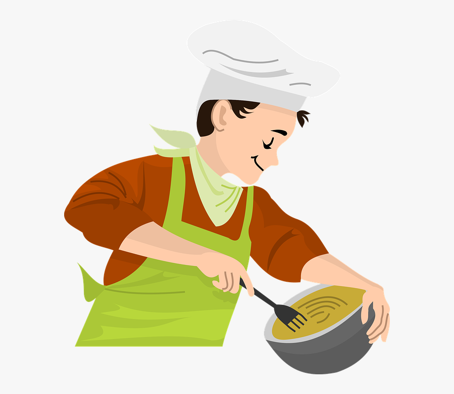 Cooking clipart covered food. Png boy free cliparts