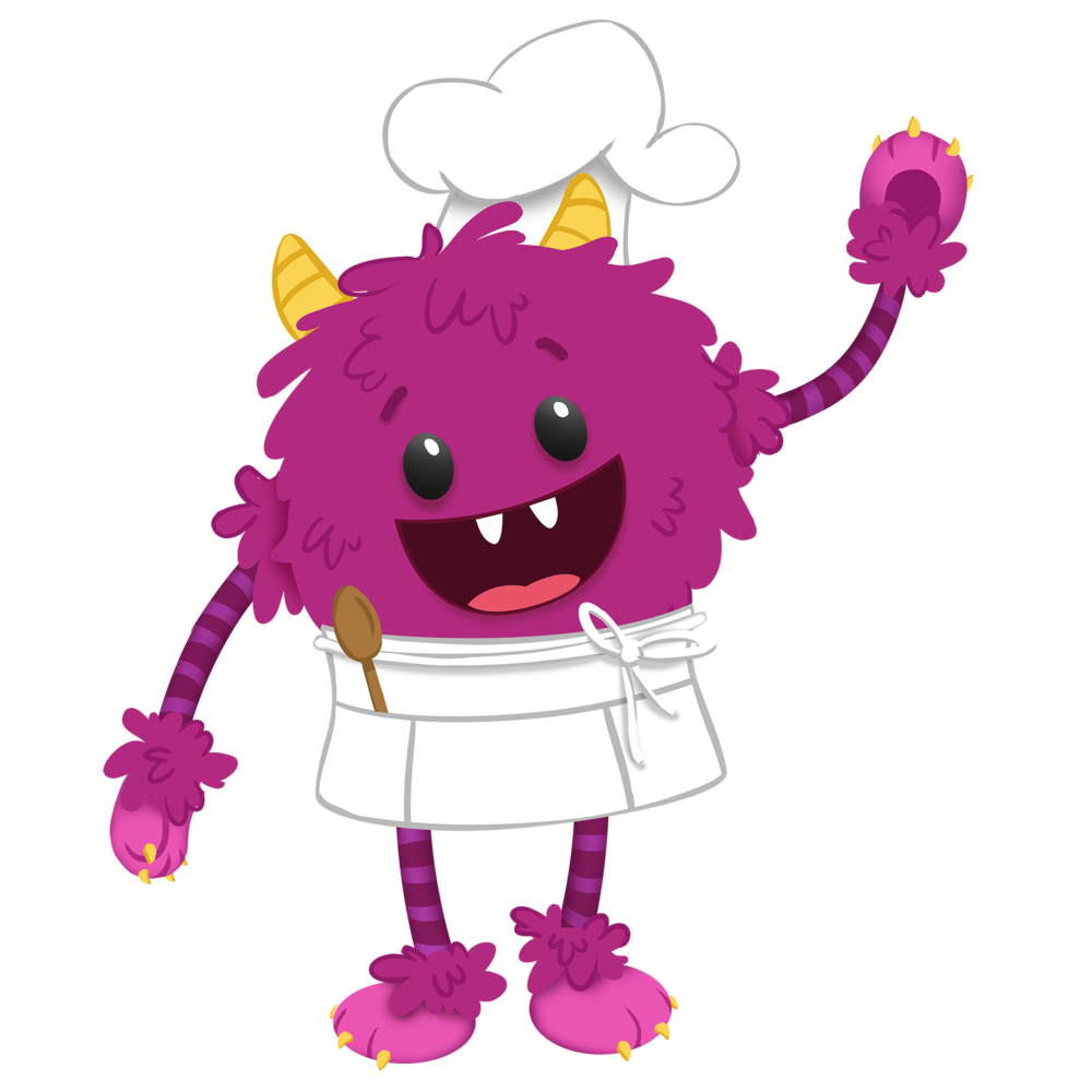 Nomster chef story fun. Cook clipart cooking demo