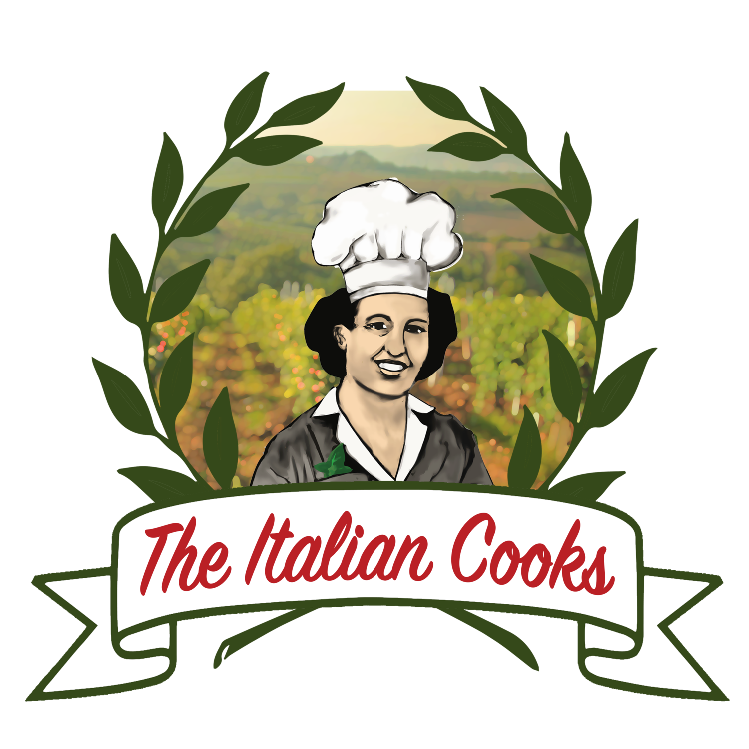 Italian chicken with polenta. Cook clipart cooking instruction