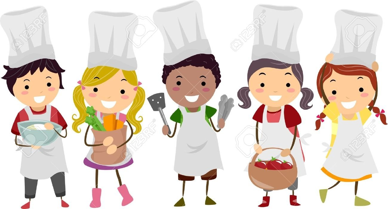 Cooking clipart cooking lesson. Kids clip art thai