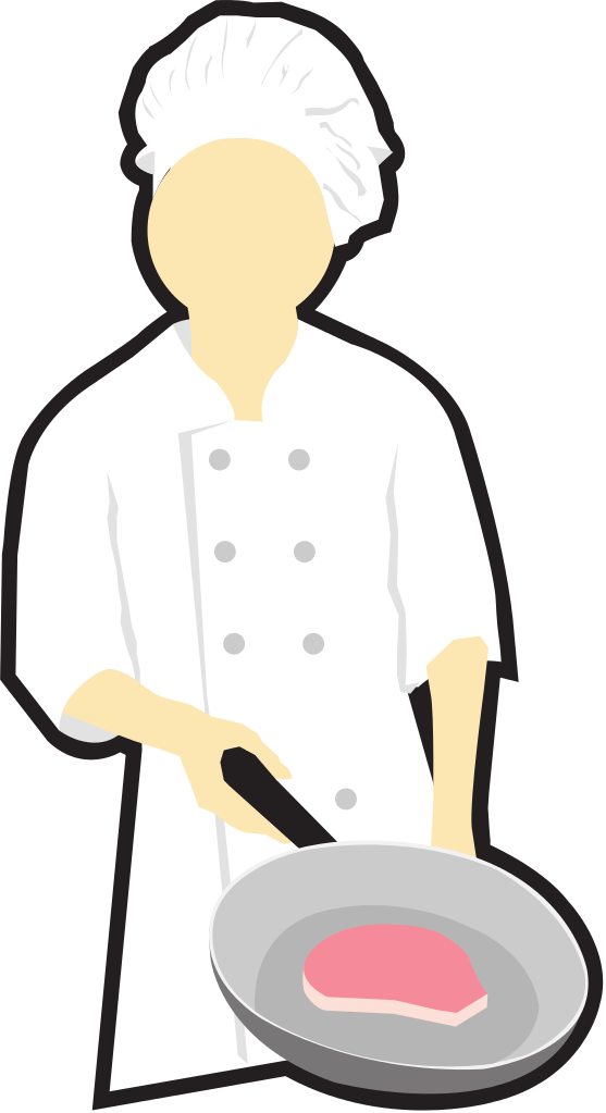 collection of chef. Cook clipart food competition