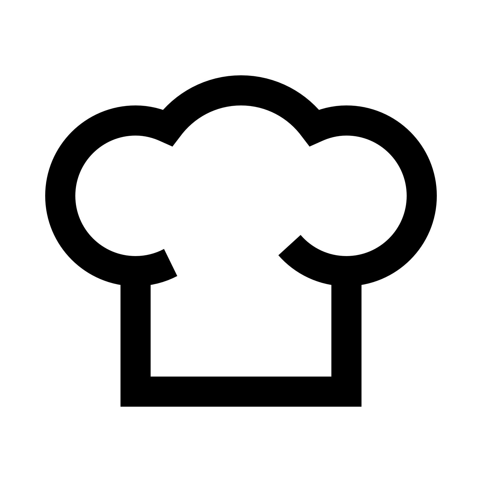 Hat clipart cooking. Chef cap png image