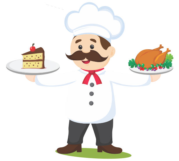 Justfoodo home store choose. Cooking clipart mr chef