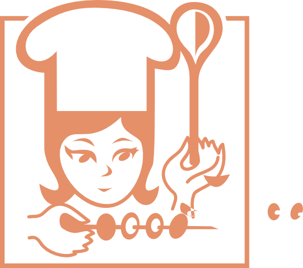 Woman clip art at. Gloves clipart chef