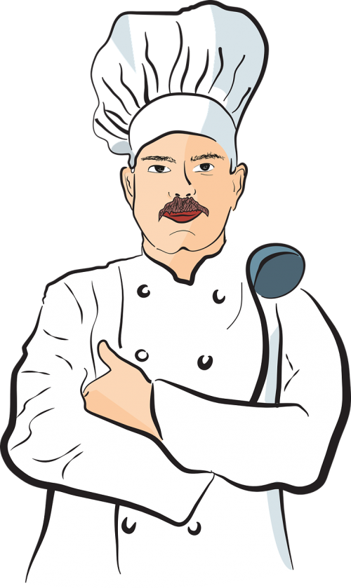 Free photos chef search. Cooking clipart male cook