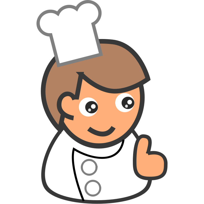 Cooking cliparts co people. Cookbook clipart utensils