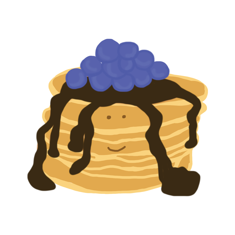 Pancake poems or chocolate. Poetry clipart ode