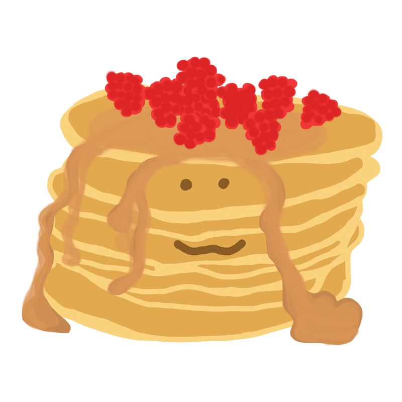 Pancake poems some like. Pancakes clipart plain