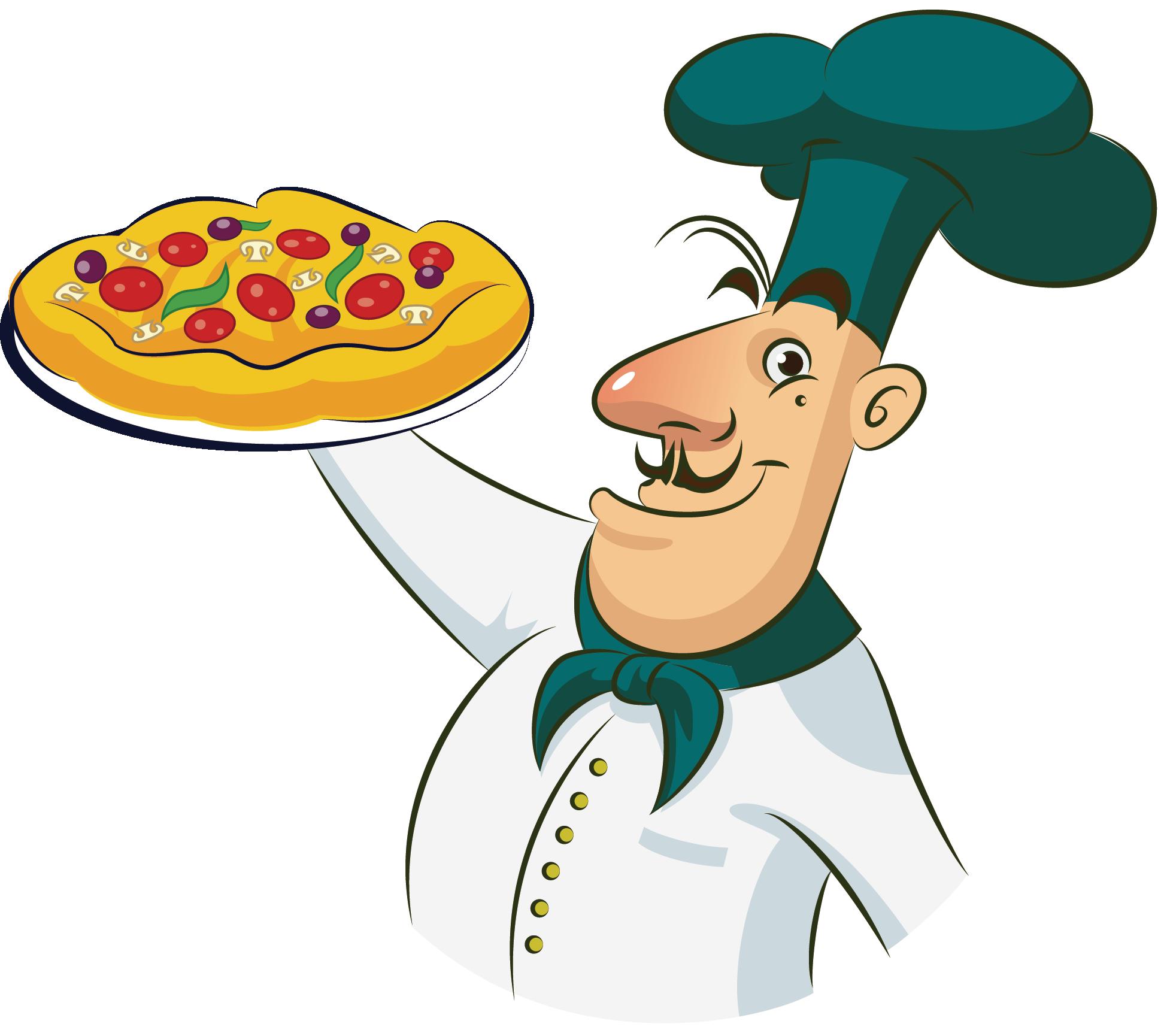 Chef cooking clip art. Hotdog clipart chicken pizza