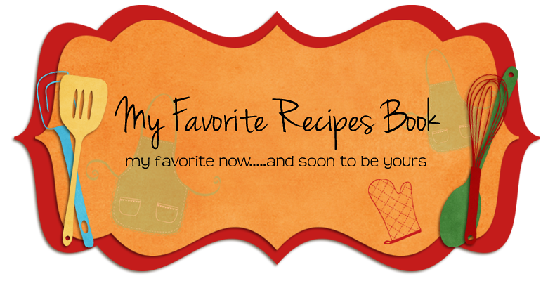My favorite recipes book. Cookbook clipart appetizer