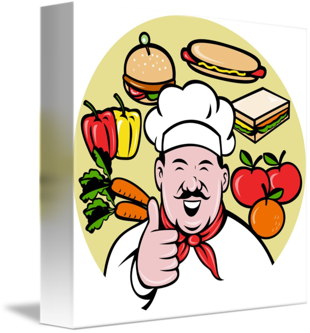 Cooking clipart food sampling. Chef cook baker thumbs