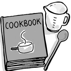 Cookbook clipart. Heaven