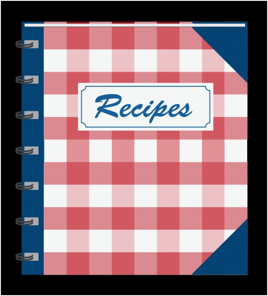 Clip art free alternative. Cookbook clipart