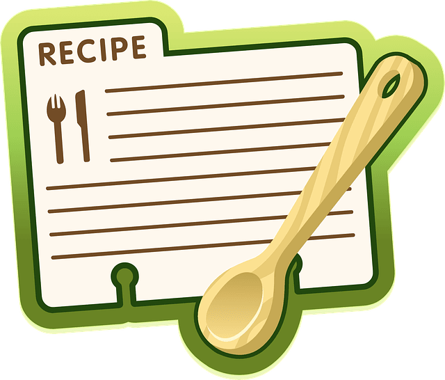Iredell county public library. Cookbook clipart appetizer