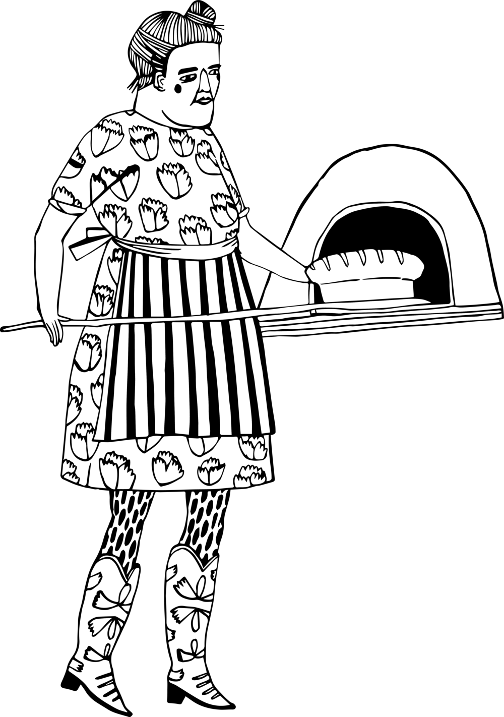 Cookbook clipart baker. Author teacher s m