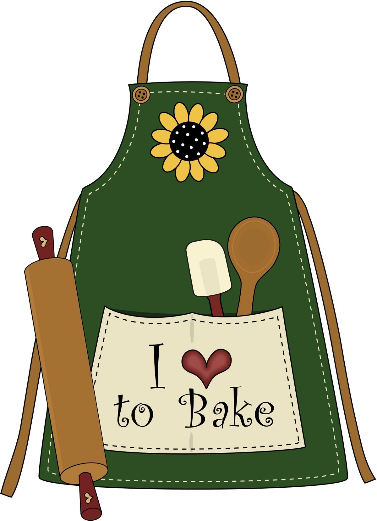 kitchen c. Cookbook clipart baking