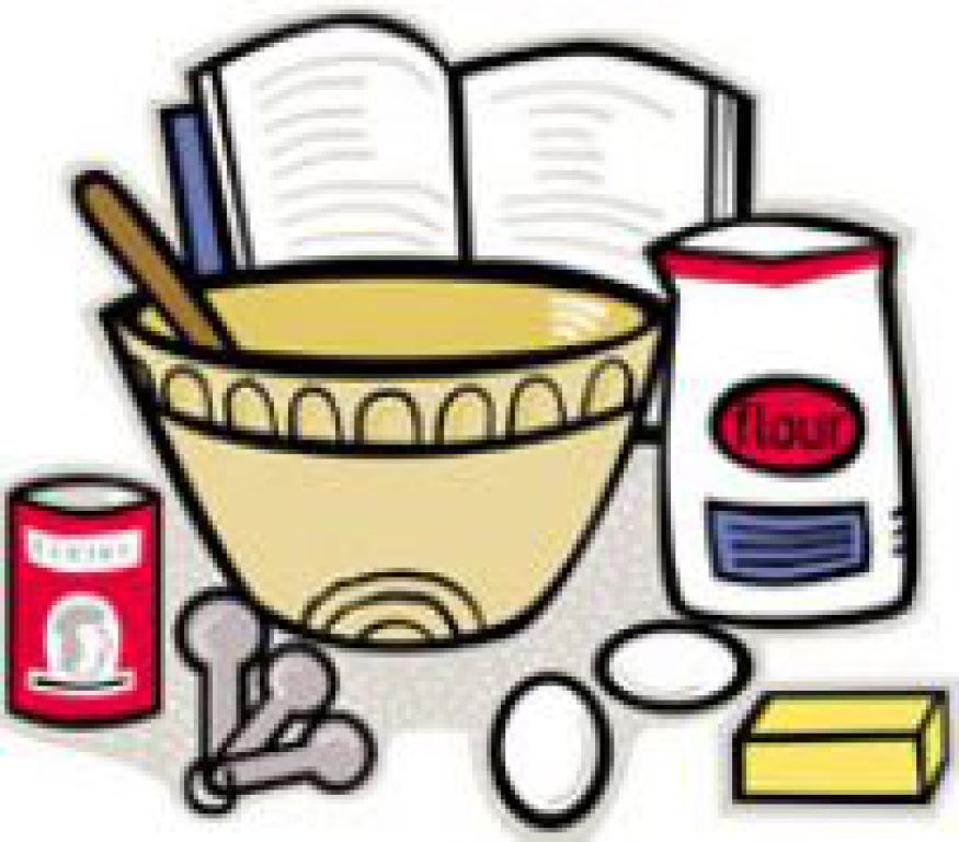 Cookbook clipart baking. Collection of free download