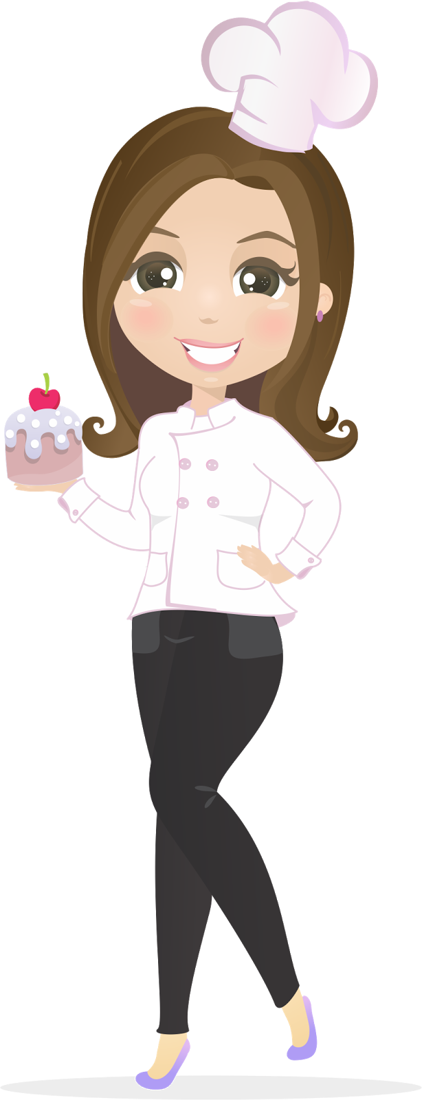 Pie clipart girl baker. Pin by atelier das