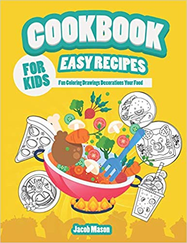 Cookbook clipart cooking activity. For kids easy recipes