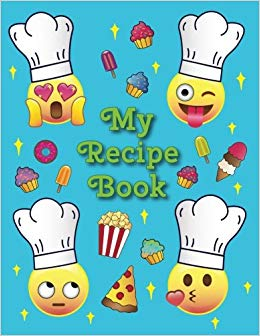My recipe a blank. Cookbook clipart cooking book