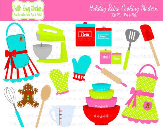 off baking holiday. Cookbook clipart cooking item