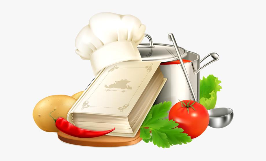 Cookbook clipart cooking item. Kitchen page pinterest clip