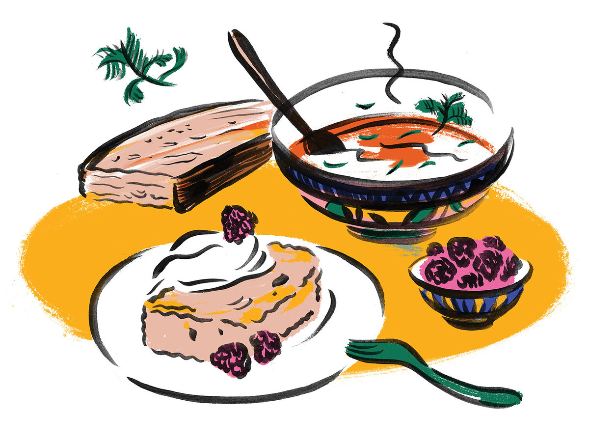 Cookbook clipart cooking show. Nancy silverton cooks from