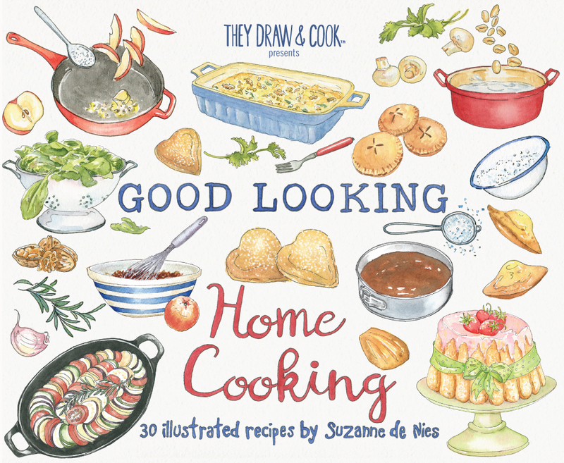 Shop they draw cook. Cookbook clipart home cooking