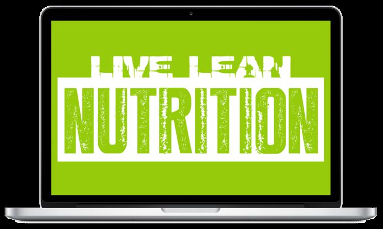 Cookbook clipart ingredient. Live lean nutrition tv