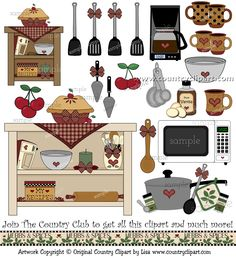 best clip art. Cookbook clipart kitchen rules