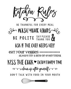 Cookbook clipart kitchen rules.  best images in