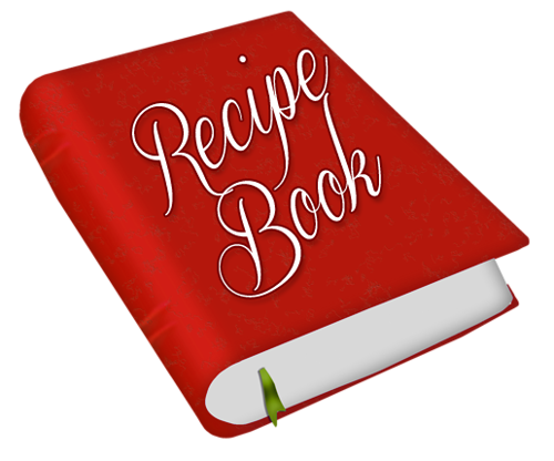 Cookbook clipart receipe. Pin by michelle cowart