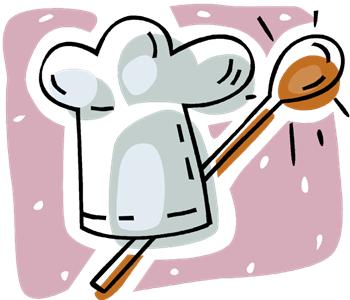 Recipe clip art library. Cookbook clipart receipe