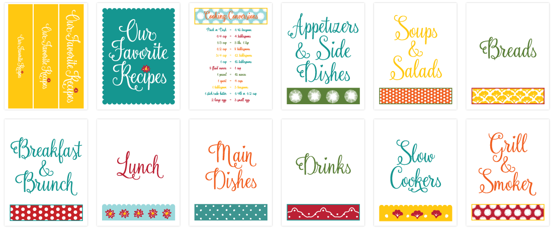 Cookbook clipart recipe book. Diy binder kit inspired