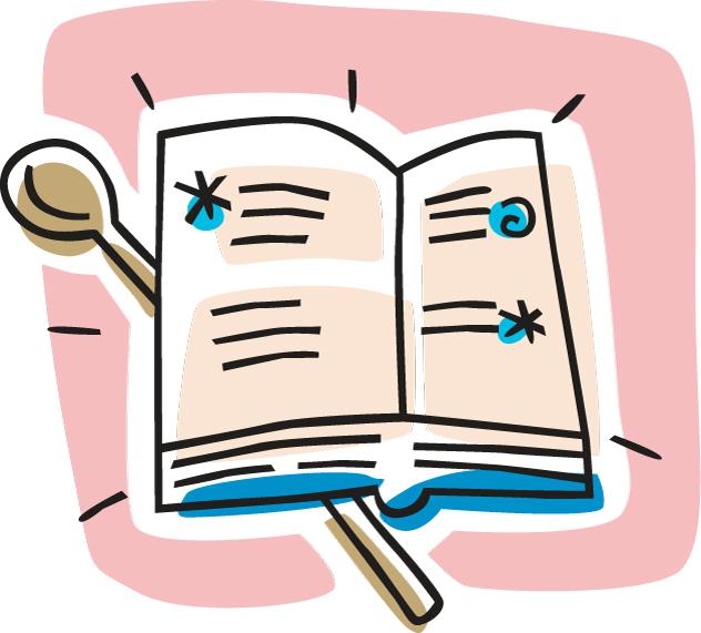 Cookbook clipart recipe book. Free download best