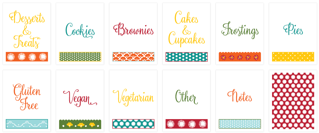 Diy binder kit inspired. Cookbook clipart recipe book
