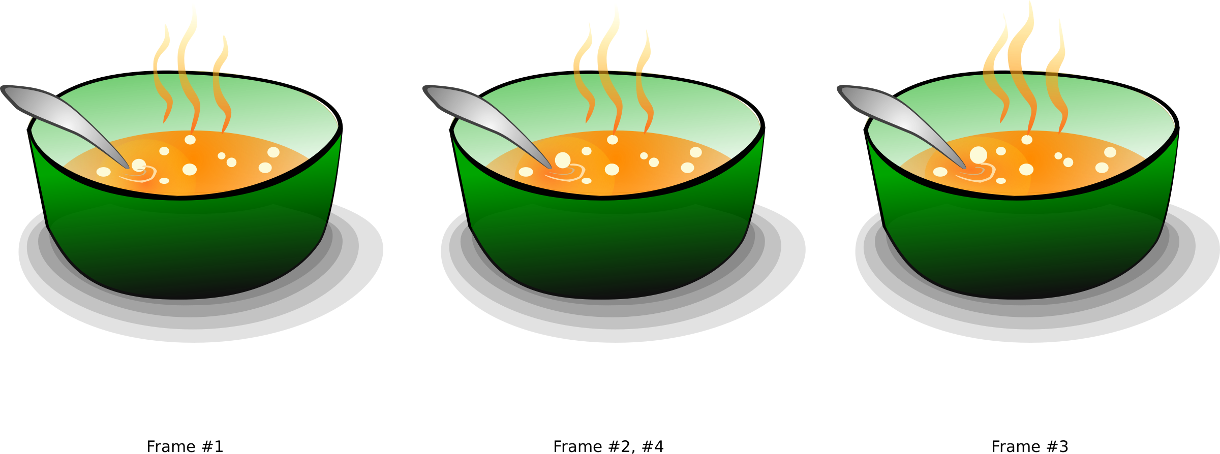 For animation icons png. Dishes clipart soup bowl