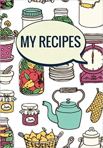 Cookbook clipart vintage cookbook. My recipes blank recipe