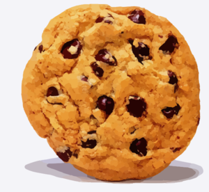 Cookie clipart. Chocolate chip clip art