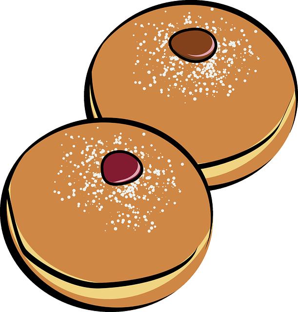 Bitten cookie panda free. Donuts clipart beignet