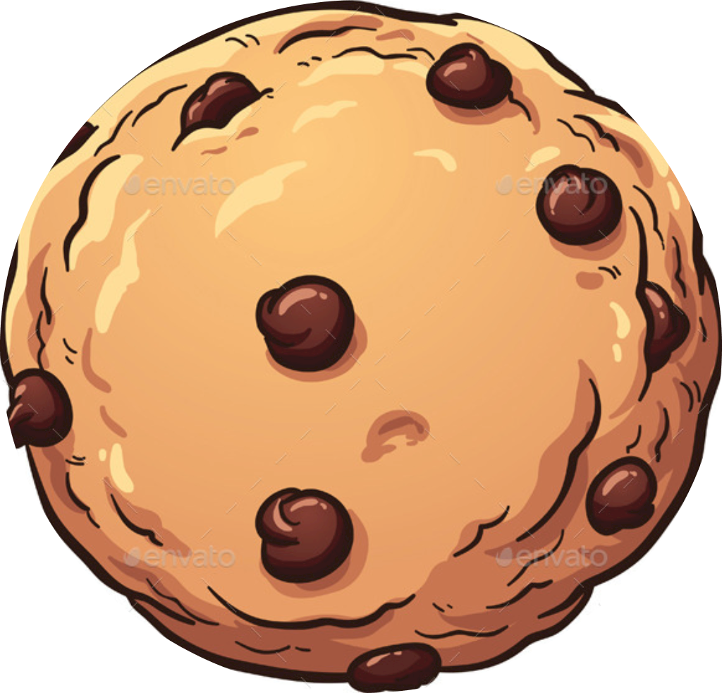 Home sundaes gelato sandwich. Desert clipart chocolate chip cookie