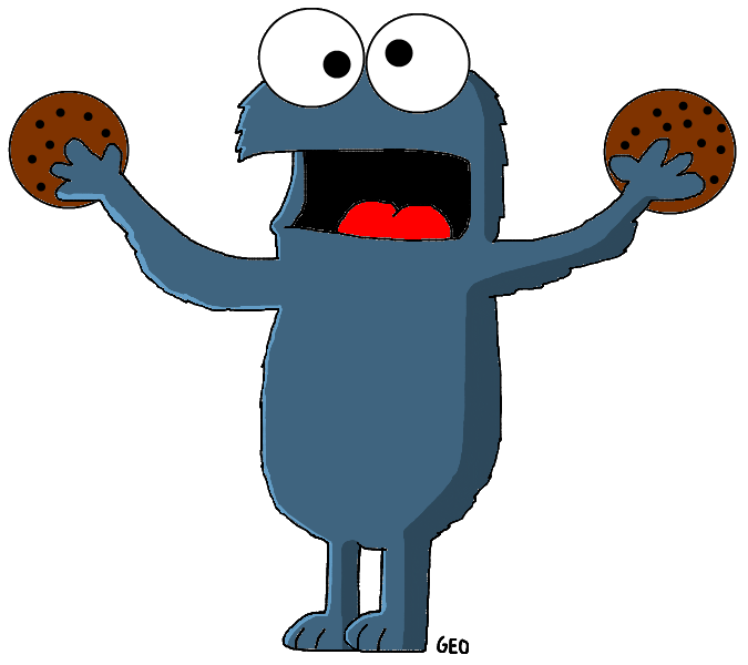 Image cookie monster png. Elmo clipart wiki