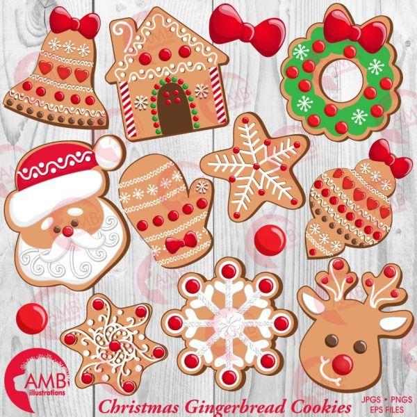Gingerbread clipart snowflake. Christmas cookie santa house