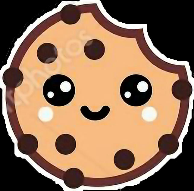 Cokie galletas . Cookie clipart kawaii