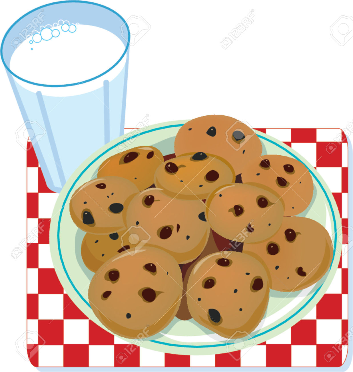 Best of cookies clipartion. Cookie clipart plate cookie