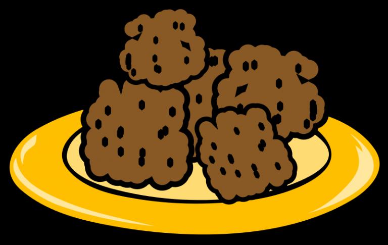 Of cookies panda free. Cookie clipart plate cookie