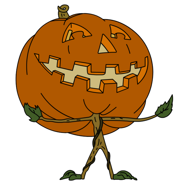 Hayride giant pumpkin