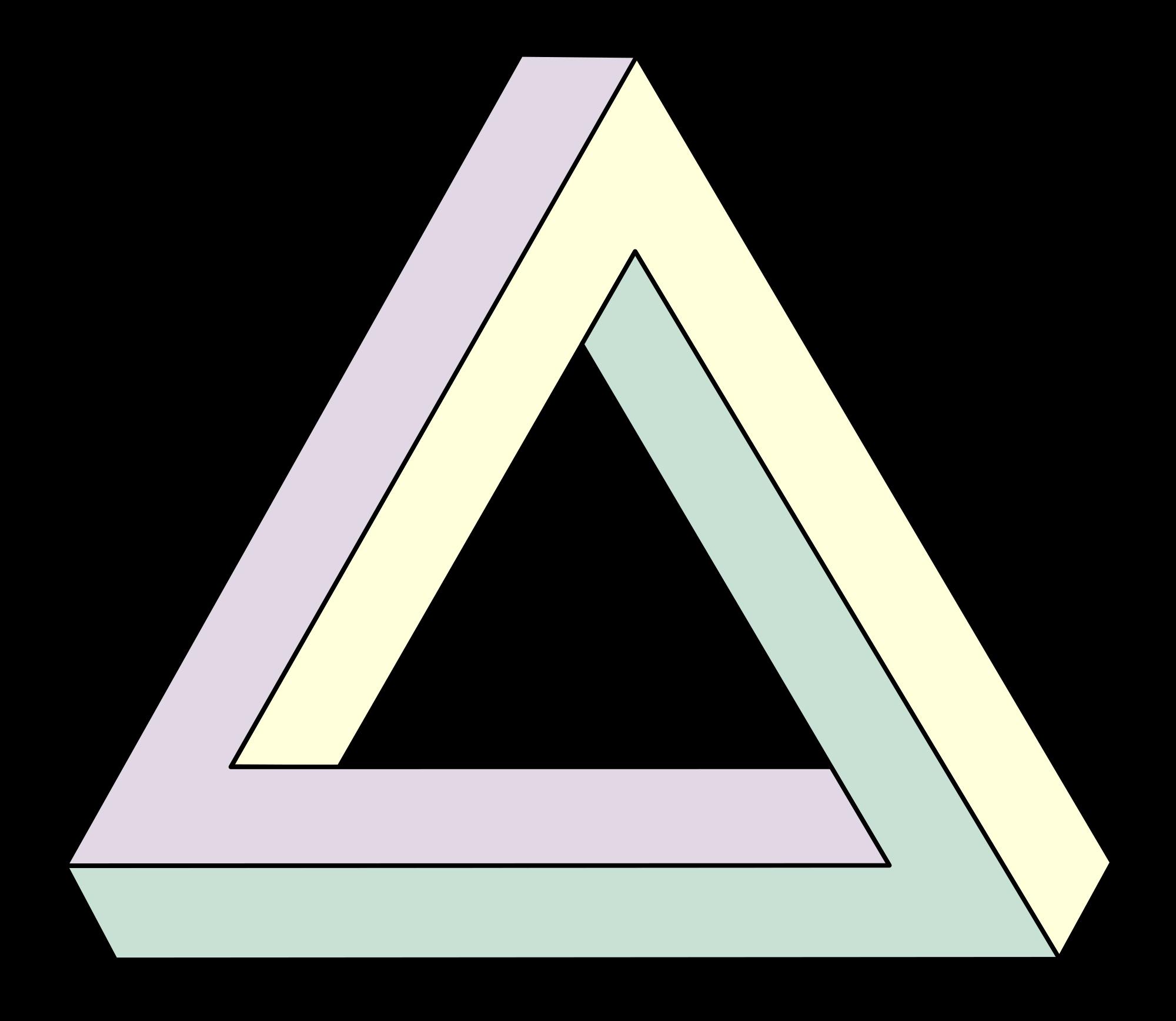 Triangular svg