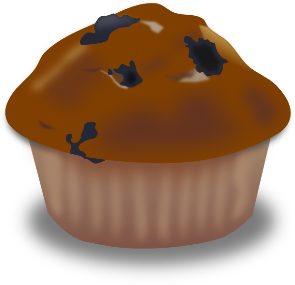 Chocolate muffin clip art. Cupcakes clipart real cupcake